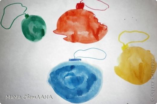 Земляничка. Посмотрели мы Лунтика и тоже решили нарисовать ягодки. фото 6