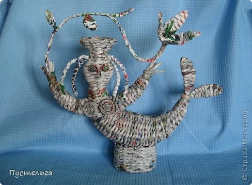 Русалочка - плетёночка.  фото 1
