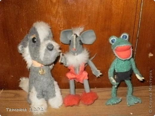когда-то я работала в интернате,детей нужно было занимать и мы шили с ними каркасные игрушки. фото 1