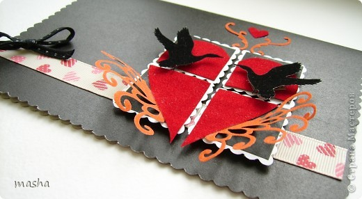 Вот такая открытка для игры http://stranamasterov.ru/node/134561 у меня родилась буквально за пол часа, не знаю было ли хорошее вдохновение или нет? (в чёрном цвете) фото 2