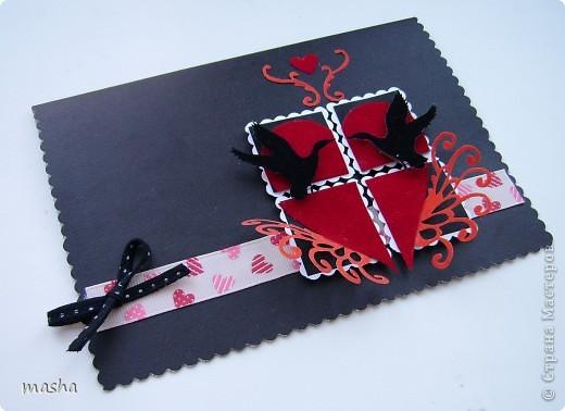 Вот такая открытка для игры http://stranamasterov.ru/node/134561 у меня родилась буквально за пол часа, не знаю было ли хорошее вдохновение или нет? (в чёрном цвете) фото 1