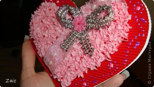 Ну вот и моя валентинка (снаружи) фото 2