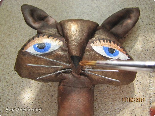 """Дорогие мастерицы, выкладываю МК кошек,он очень подробный,старалась делать и для начинающих и для """"продвинутых"""" мастеров. фото 48"""