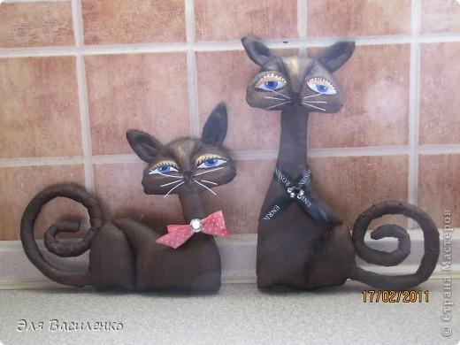 """Дорогие мастерицы, выкладываю МК кошек,он очень подробный,старалась делать и для начинающих и для """"продвинутых"""" мастеров. фото 1"""