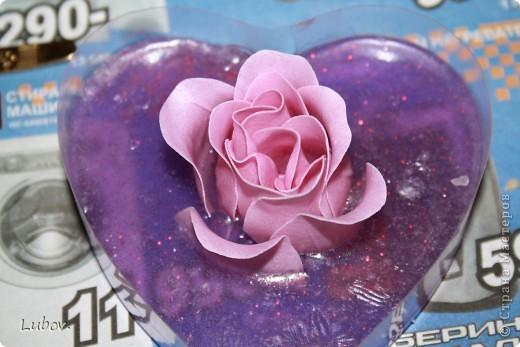 Роза в сердце. Мастер -класс. фото 8