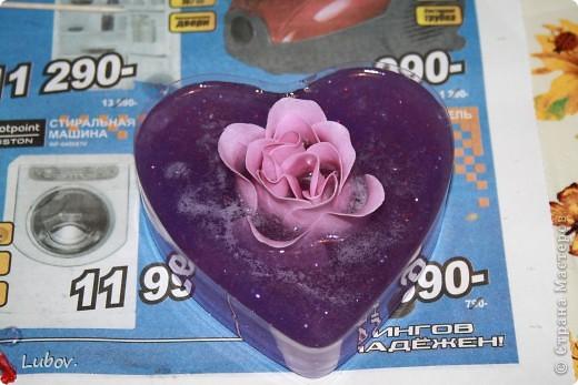 Роза в сердце. Мастер -класс. фото 9