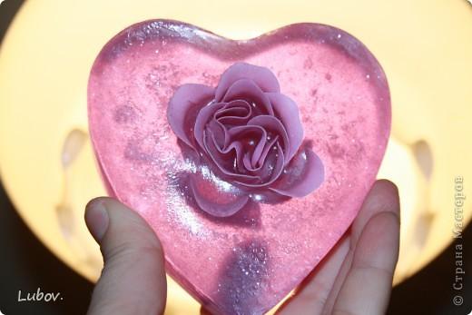 Роза в сердце. Мастер -класс. фото 11