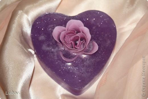 Роза в сердце. Мастер -класс. фото 1