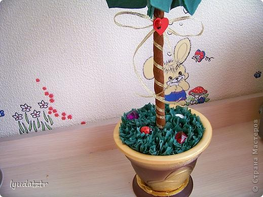 "Моё первое деревцо! Спасибо  Ирина из Орла за её ""Лимонный пломбир"" http://stranamasterov.ru/node/106919?c=new_541. фото 2"