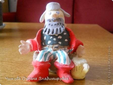 Баба Яга залетела в гости к Деду фото 3