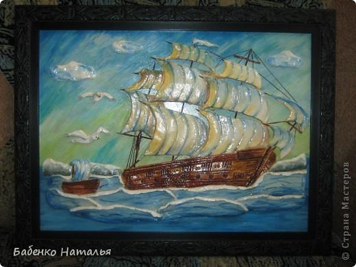 Вот и мой кораблик поплыл по Стране Мастеров.Хочу показать вам свои ошибки,допущенные при работе. фото 1