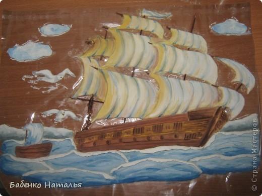 Вот и мой кораблик поплыл по Стране Мастеров.Хочу показать вам свои ошибки,допущенные при работе. фото 2