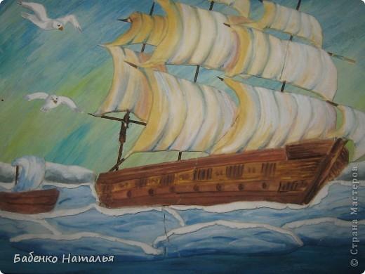 Вот и мой кораблик поплыл по Стране Мастеров.Хочу показать вам свои ошибки,допущенные при работе. фото 3