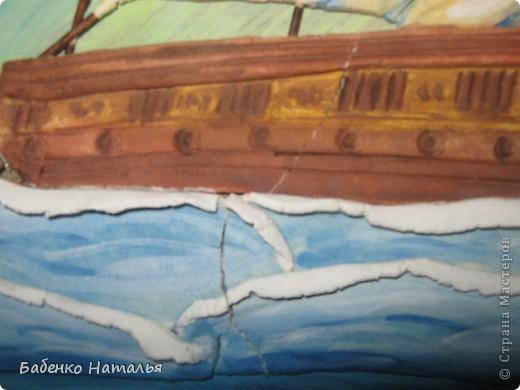 Вот и мой кораблик поплыл по Стране Мастеров.Хочу показать вам свои ошибки,допущенные при работе. фото 4