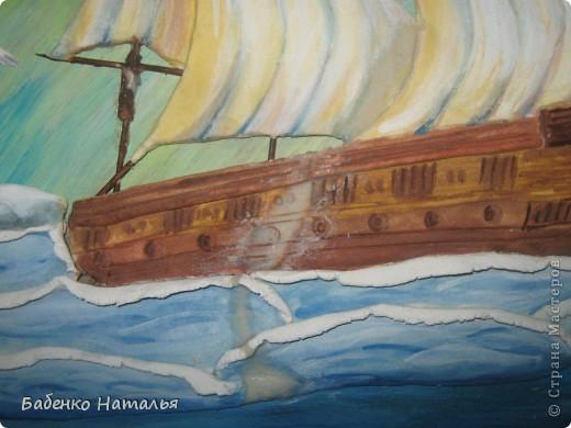 Вот и мой кораблик поплыл по Стране Мастеров.Хочу показать вам свои ошибки,допущенные при работе. фото 5