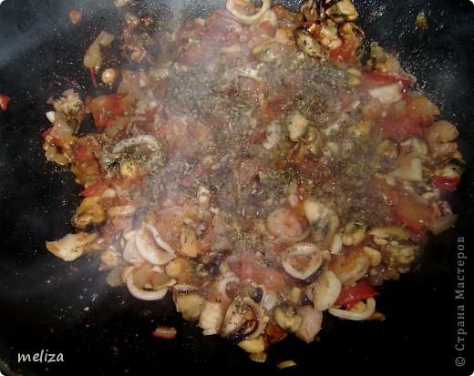 Спагетти с морепродуктами фото 13