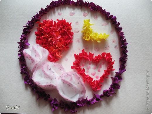 Внутри сердечко из манки. фото 2