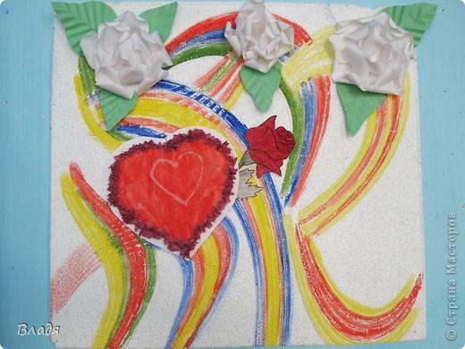 Внутри сердечко из манки. фото 4
