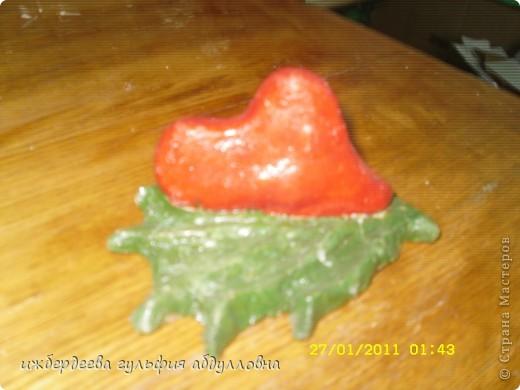 Вот такие сердечки из соленого теста фото 1