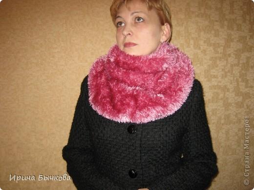 Этот шарф можно носить просто как шарф... фото 1