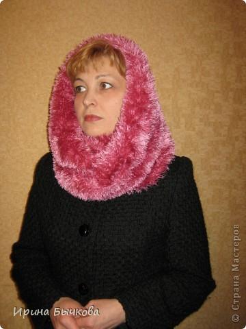 Этот шарф можно носить просто как шарф... фото 2