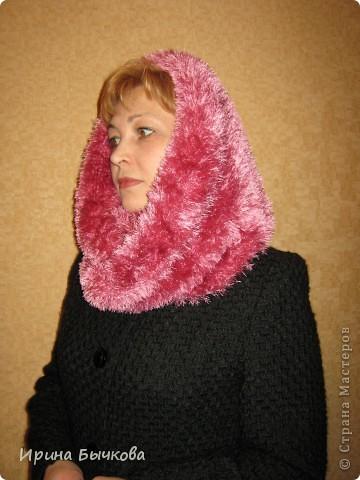 Этот шарф можно носить просто как шарф... фото 3