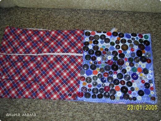 Массажный коврик для детских ножек. Делала по совету массажиста. фото 1