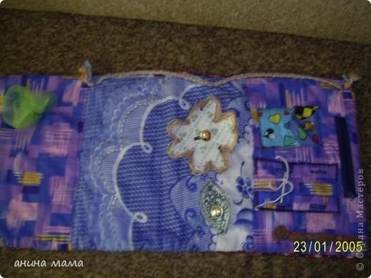 Массажный коврик для детских ножек. Делала по совету массажиста. фото 2