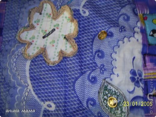 Массажный коврик для детских ножек. Делала по совету массажиста. фото 3
