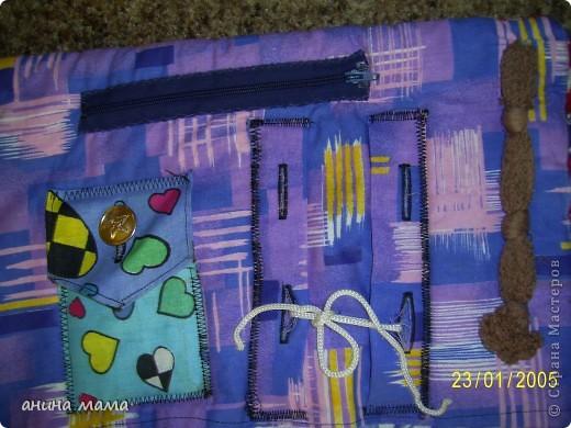Массажный коврик для детских ножек. Делала по совету массажиста. фото 4