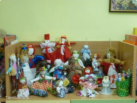 Уголок народной куклы в детском саду фото 1