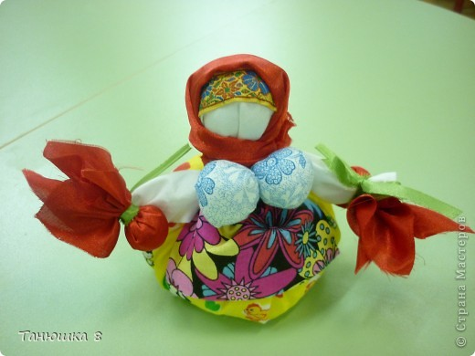 Уголок народной куклы в детском саду фото 4