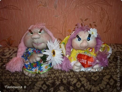 Куклы - попики  Дуся и Нюся