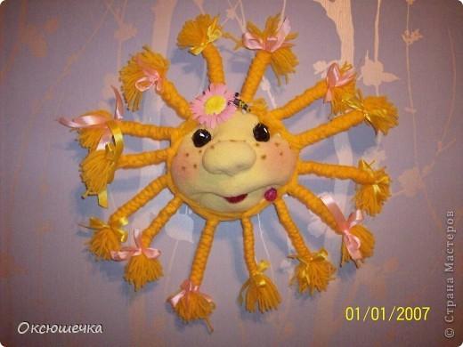 Солнышко сделано благодаря МК Pawy.Спасибо ей большущее за такую интересную идею. фото 1