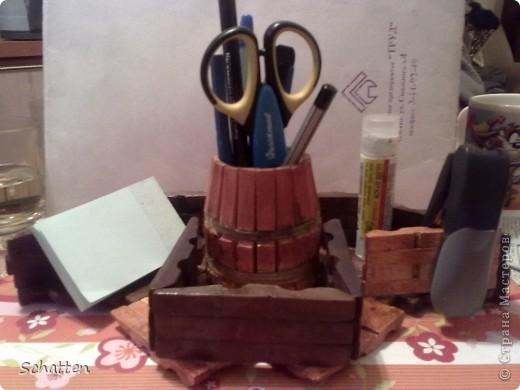 Вообще-то хотелось чего попроще, то есть вот такую карандашницу http://stranamasterov.ru/node/61031?c=favorite, чтобы только ручки да карандаши стояли..... фото 5