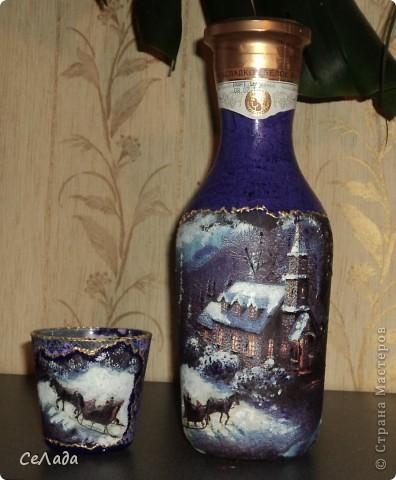 Заказ. В коллекцию. Бутылка, свеча. фото 1