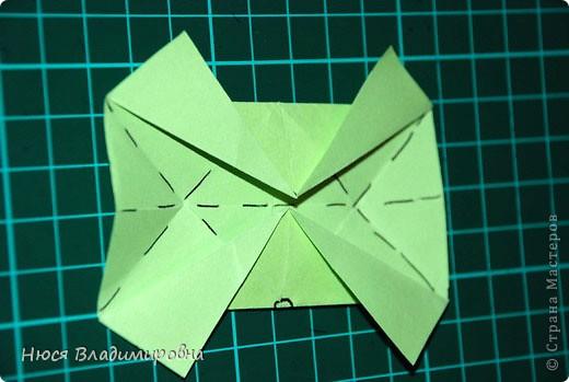 ВСЕМ добрый день, вечер, ночь ... это снова Я , но в этот раз я не с открытками, а с творчеством с которого началось мое знакомство со Страной Мастеров и вообще с миром рукодельного творчества - это оригами,  а если быть точнее с разновидностью оригами - это кусудамы - бумажные шарики, которые вот уже второй год не дают мне спойно спать... так как благодаря им, все и началось и мое творческое взросление и открытие крыжка  и много много чего в жизни изменилось с познанием этого чудного творчества. Этот шарик , я очень люблю - хоть немного он и заморочный в складывании - результат стоит того !!! (да и после 10 модуля - все складывается с закрытими глазами)  фото 15
