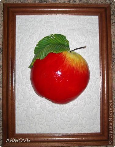 Размещения работ на разных сайтах просторов интернета дали свои плоды.Можете меня поздравить-мне поступил заказ.Девушка заказала каждый фрукт или овощ отдельно в рамке 15*15.А пока показываю в другой рамке. фото 5