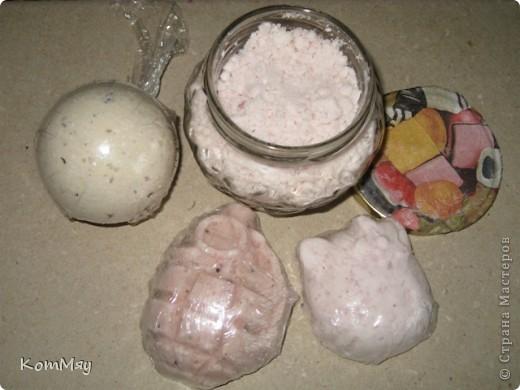 Бомбочки и соль для ванной