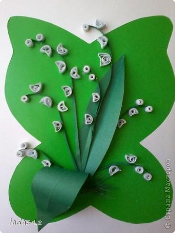 Поделки ландыши из бумаги