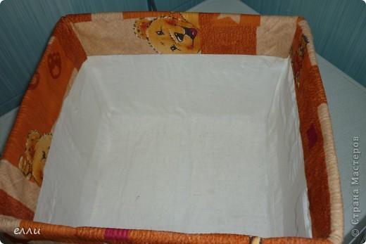 Коробка для полотенец в ванную комнату,потом сделаю в цвет ванной,а эта пробная. фото 2