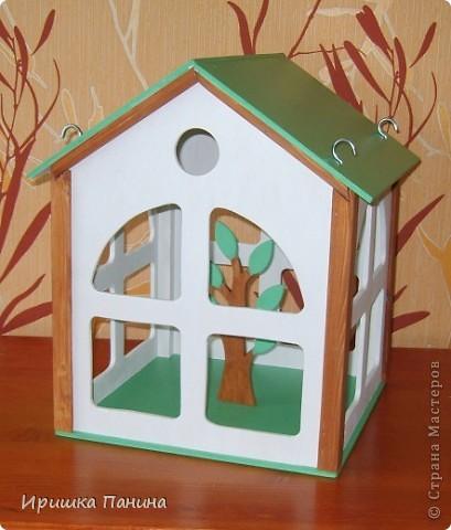 Кормушка-домик для птиц! фото 3