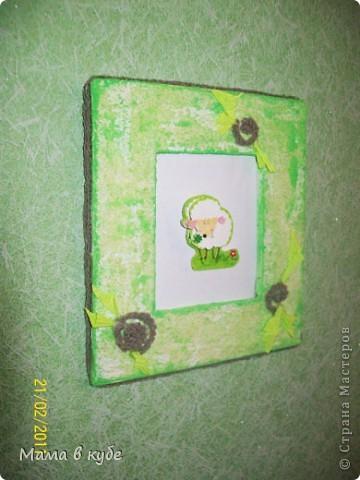 """Первая картинка из серии """"Овечки на сон грядущий"""")) Ради них и затевалось """"баловство"""" с бумагой и картоном)  http://stranamasterov.ru/node/152513 фото 2"""
