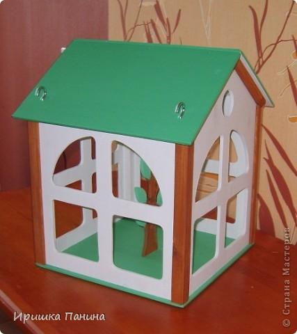 Кормушка-домик для птиц! фото 2