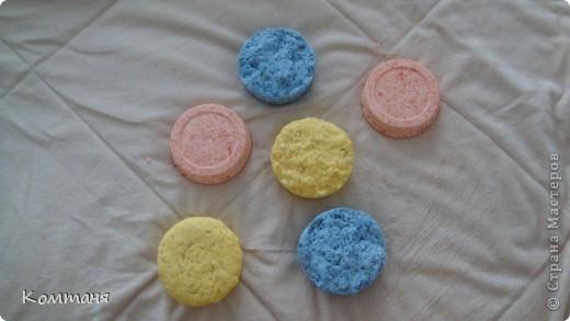 Солевые бомбочки для ванн  МК фото 6