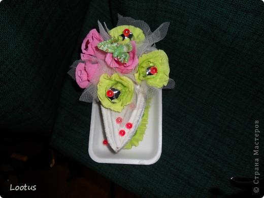 Спасибо за поздравление.Приглашаю всех на мой первый конфетный тортик Спасибо Татьяне Просняковой за ее мастер класс тортика. Спасибо всем вам дорогие мастерицы Страны мастеров.Вы вдохновили меня и многих женщин на творчество. Всем удачи
