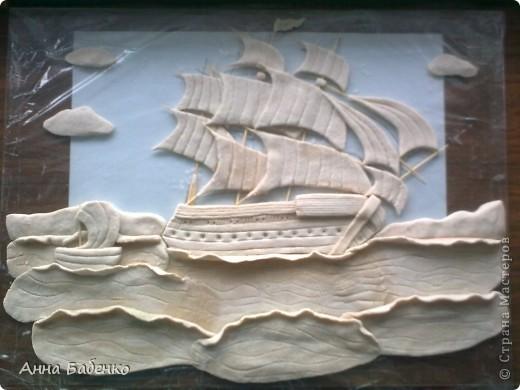 Корабль сделан по МК Ларисы Ивановой.  фото 2