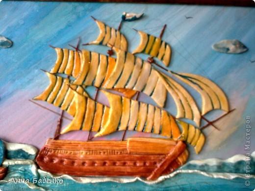 Корабль сделан по МК Ларисы Ивановой.  фото 5