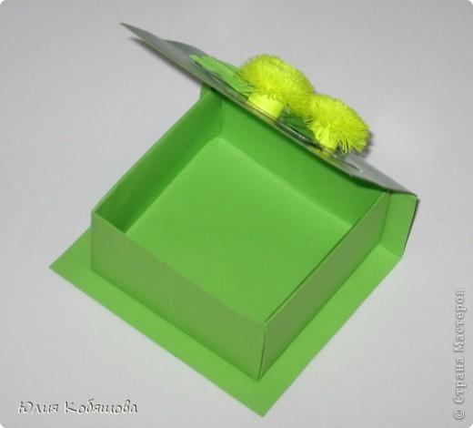 Вот такая коробочка у меня получилась. Большое спасибо за МК по изготовлению подобных коробочек Elene.ost.  фото 2