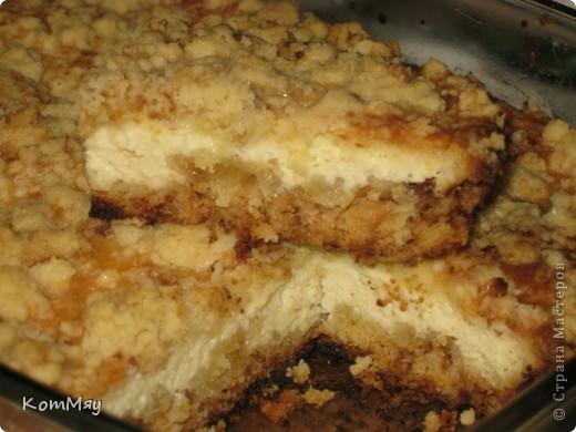 Творожный пирог по рецепту Елены http://stranamasterov.ru/user/26449  фото 2